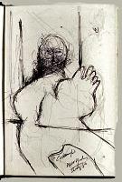 view Sketchbook of Ramón Carulla 1980 digital asset: sketch 1