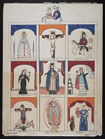thumbnail image for Preparatory sketch for a retablo
