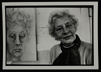 view Maud Morgan with self portrait digital asset number 1