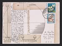 thumbnail image for Lenore Tawney mail art to Maryette Charlton