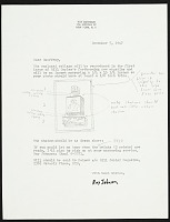 thumbnail image for Ray Johnson letter to Geoffrey Clements
