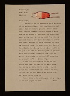 thumbnail image for Maria Motherwell letter to Joseph Cornell
