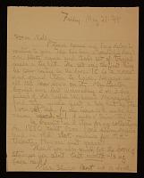 thumbnail image for Robert Cornell letter to Elizabeth Cornell Benton
