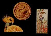 thumbnail image for Three bird cutouts