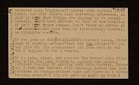 thumbnail image for Joseph Cornell postcard to Elizabeth Cornell Benton