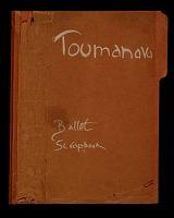 thumbnail image for Toumanova ballet scrapbook