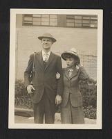 thumbnail image for Robert Motherwell and Maria Ferreira at LaGuardia Airport