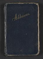 thumbnail image for Joseph Cornell's address book