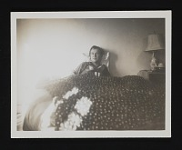 thumbnail image for Robert Motherwell in bed