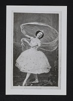 thumbnail image for Reproduction of a photo of ballet dancer Louise Lamoureux