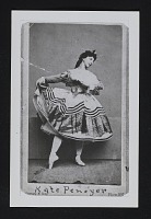 thumbnail image for Reproduction of Gurney & Son photo of ballet dancer Kate Pennoyer