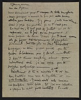thumbnail image for Marcel Duchamp letter to Suzanne Duchamp