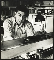 thumbnail image for Dominic Di Mare at the Macomber loom
