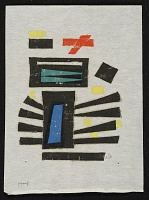 thumbnail image for Werner Drewes untitled abstract print