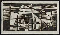 thumbnail image for Werner Drewes abstract geometric print