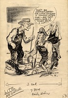 thumbnail image for Cartoon of President Truman