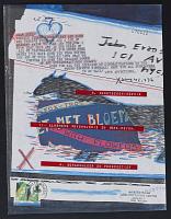 thumbnail image for Guy Bleus mail art to John Evans