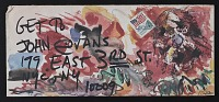 thumbnail image for Blaster Al Ackerman mail art to John Evans