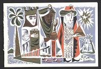 thumbnail image for Howard Mandel holiday card to Ralph Fabri