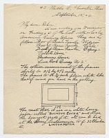 thumbnail image for Edward Hopper letter to Frank Knox Morton Rehn
