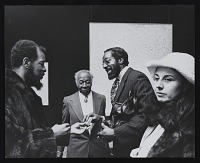 thumbnail image for Ornette Coleman with Beauford Delaney at <em>Beauford Delaney</em>