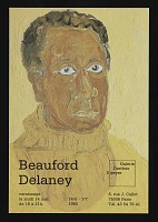 thumbnail image for Announcement card for <em>Beauford Delaney</em> at Galerie Darthea Speyer