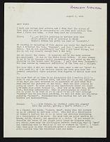 thumbnail image for Barnett Newman letter to Clement Greenberg