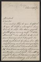 thumbnail image for Frank P. Leslie letter to Philip Leslie Hale