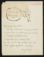 thumbnail image for Andy Warhol letter to Russell Lynes