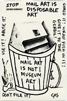 thumbnail image for Carol Schneck mail art to John Held Jr.
