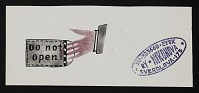 thumbnail image for Ry Nikonova mail art to John Held Jr.