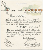 thumbnail image for George Grosz letter to Erich S. Herrmann