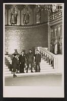 thumbnail image for Four men standing in the throne room of Neuschwanstein Castle in Bavaria