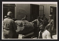 thumbnail image for Michelangelo's <em>Madonna and Child</em> packed onto a crate by soldiers at Altaussee, Austria