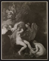 thumbnail image for Reproduction of Rubens' painting <em>Diana at the bath</em>