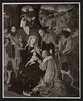 thumbnail image for Reproduction of the Master of Cappenberg's painting <em>Adoration of the Magi</em>
