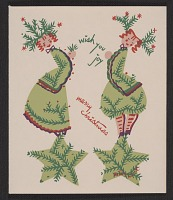 thumbnail image for Linda Stern Christmas card designed by Peter Hunt