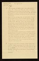 thumbnail image for Claes Oldenburg letter to Ellen H. Johnson