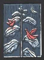 thumbnail image for Bobby Donovan holiday card to Jacob Kainen