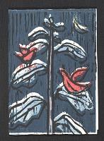 thumbnail image for Bobby Donovan holiday card to Jacob Kainen