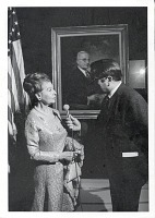 thumbnail image for Unveiling of one of Greta Kempton's Truman portraits at the National Portrait Gallery