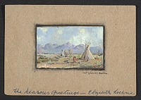 thumbnail image for Elizabeth Davey Lochrie Christmas card to W. Langdon Kihn