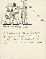 thumbnail image for Eero Saarinen letter to Florence Knoll Bassett