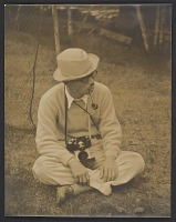 thumbnail image for Yasuo Kuniyoshi with a camera