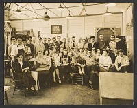 thumbnail image for Yasuo Kuniyoshi with students and instructors at the Art Students League