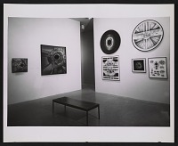 thumbnail image for Installation view of Lee Bontecou works in the <em>Americans 1963</em> exhibition at the Museum of Modern Art