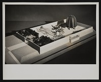 thumbnail image for Photograph of model for the Roofless Church in New Harmony, Indiana by Philip Johnson