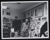 thumbnail image for Robert Motherwell in his Greenwich studio