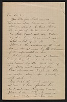 thumbnail image for William Cushing Loring letter to his parents