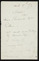 thumbnail image for Winslow Homer to Gustav Reicard